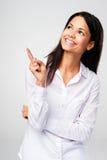 Pointage de femme Images stock