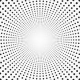 Pointage de l'image tramée Dots Background de cercle illustration libre de droits