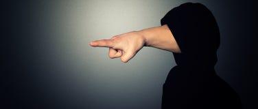 Pointage de la main illustration libre de droits