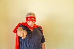 Pointage supérieur de super héros Image libre de droits