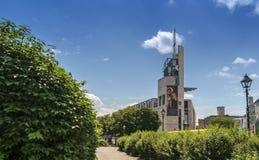 Pointe-à- музей Callière стоковые фотографии rf