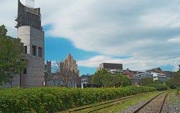 Pointe-à- musée de Callière photos libres de droits