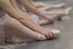 pointe παπούτσια Στοκ φωτογραφία με δικαίωμα ελεύθερης χρήσης