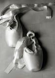 pointe τρύγος παπουτσιών Στοκ φωτογραφία με δικαίωμα ελεύθερης χρήσης