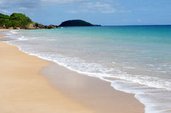 Pointe Allegre beach in Guadeloupe Stock Photography