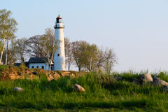 Pointe aux Barques Lighthouse, built in 1848 Stock Photography