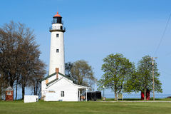 Pointe aux Barques Lighthouse, built in 1848 Royalty Free Stock Photography