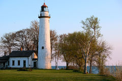 Pointe aux Barques Lighthouse, built in 1848. Lake Huron, Michigan, USA Stock Image