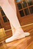 Pointe calza #03 fotografia stock