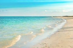 Pointe D `-Esny strand, Mauritius Arkivfoton
