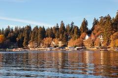 Pointe de flèche de lac image libre de droits