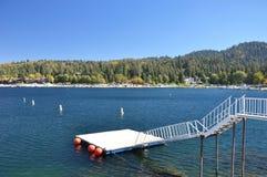 Pointe de flèche de lac, Ca Image libre de droits