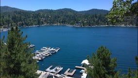 Pointe de flèche la Californie de lac Image stock
