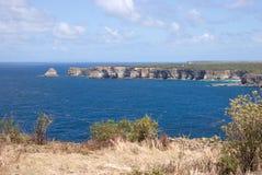 Pointe de la Grande Vigie, Guadeloupe Royalty Free Stock Photos