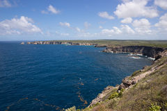 Pointe de la Grande Vigie, Guadeloupe Stock Images