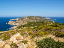 Pointe de la Revellata Royalty Free Stock Images