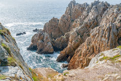 Pointe de Pen-Hir in Brittany Stock Photography