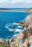 Pointe de Pen-Hir in Brittany Stock Images