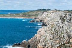 Pointe de Pen-Hir in Brittany Royalty Free Stock Image
