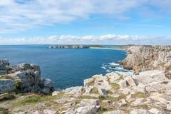 Pointe de Pen-Hir in Brittany Royalty Free Stock Photos