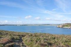 Pointe de Pen-Hir in Brittany Stock Photos