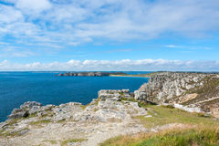 Pointe de Pen-Hir in Brittany Royalty Free Stock Photo