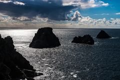 Pointe de Penhir. Brittany, France Royalty Free Stock Photography