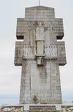 Pointe de Penhir minnesmärke Royaltyfri Bild