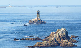 Pointe De Raz Lighthouse Stock Photo