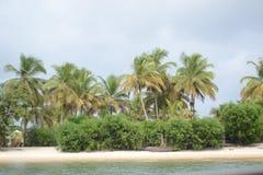 Pointe-Denis Gabon. Image des plages de la Pointe-Denis Stock Images