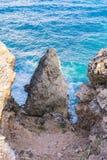 Pointe DES-Chateaux lizenzfreies stockbild