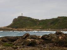 Pointe DES-Chateaux, wo Karibisches Meer den Atlantik trifft lizenzfreie stockbilder