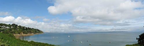 Pointe DES Espagnols und Seeküste in Bretagne Lizenzfreie Stockfotografie