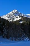 Pointe di punta de Nyon, Morzine, Haute Savoie, regione di RhÃ'ne-Alpes, Francia Immagini Stock