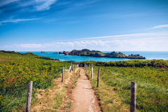 Pointe du Grouin in Cancale, France, Brittany, Europe Stock Photo