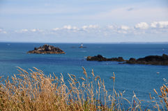 Pointe du Grouin, France Royalty Free Stock Photos