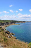 Pointe Du Grouin, Francja Obraz Royalty Free