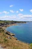 Pointe du Grouin, Frankreich Lizenzfreies Stockbild