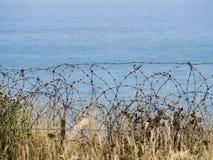 Pointe du Hoc battlefield, France Stock Images