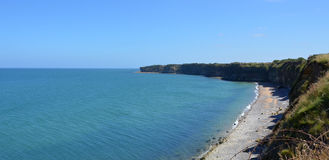 Pointe du Hoc, France Royalty Free Stock Images