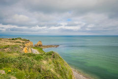 Pointe du Hoc stock photography