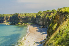 The pointe du Hoc Royalty Free Stock Image