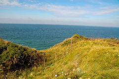 Pointe du Hoc Royalty Free Stock Image