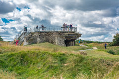 Pointe du Hoc in Normandy Royalty Free Stock Photos