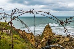 Pointe Du Hoc Normandy Stock Photos