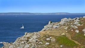 Pointe du Millier en France photo stock