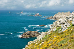 Pointe du Raz Photo libre de droits