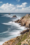 Pointe du Raz Photographie stock libre de droits