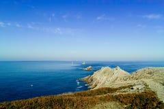 Pointe du Raz in Bretagne Lizenzfreie Stockfotos