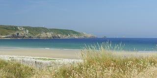 Pointe du raz in Bretagne Stock Foto's